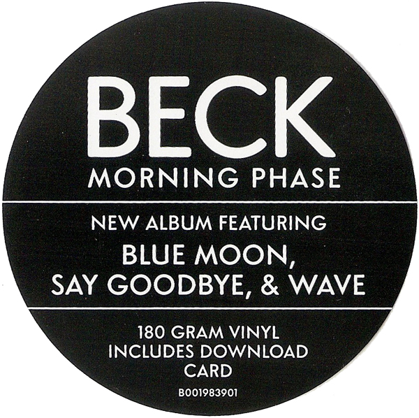 """Beck – """"Morning Phase"""" The Review: My Process ~ Vinyls Vs"""